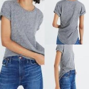 Madewell | Whisper Cotton Crewneck TShirt | EUC